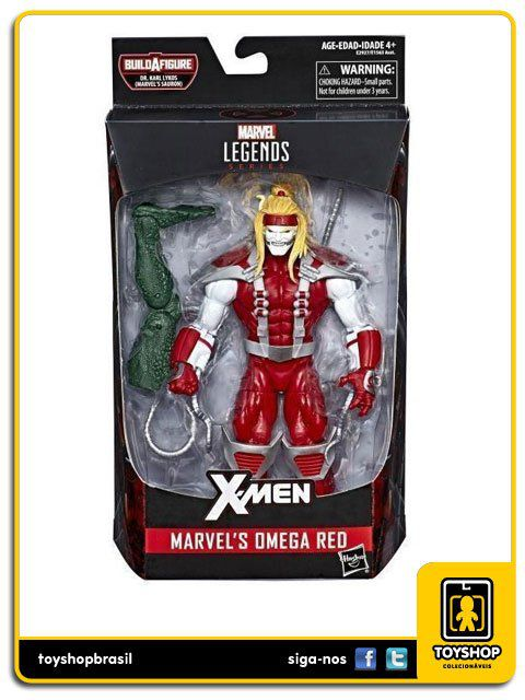 Marvel Legends X-Men Omega Red  Sauron Baf Hasbro