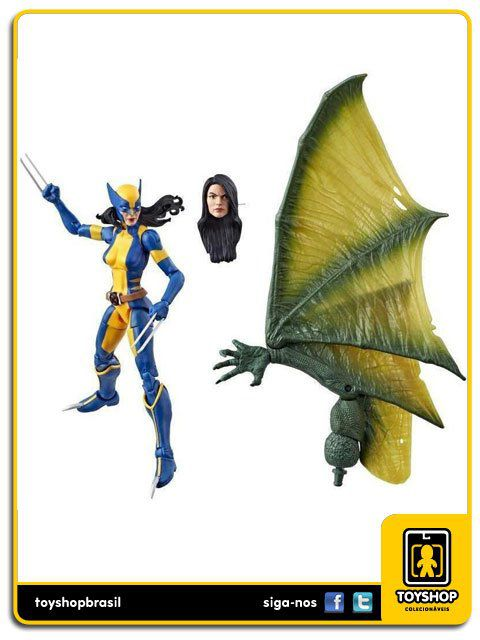 Marvel Legends X-Men Wolverine X-23  Sauron Baf Hasbro