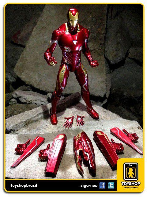 Marvel Select Avengers Infinity War Iron Man Mark 50 Disney Diamond