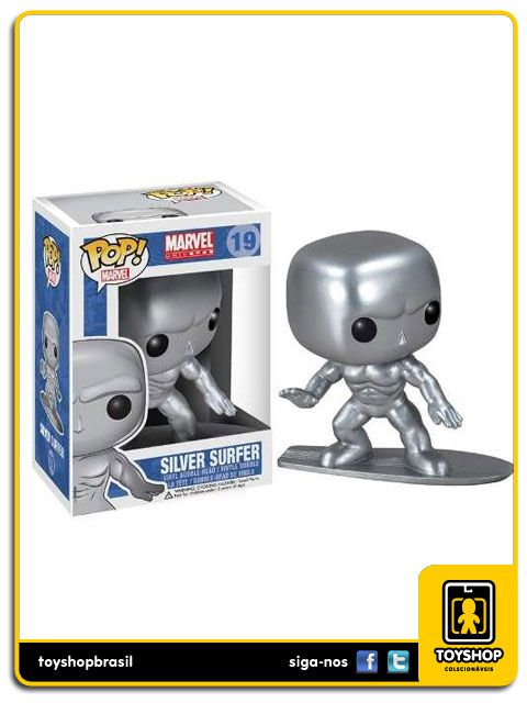 Marvel Silver Surfer 19 Pop Funko
