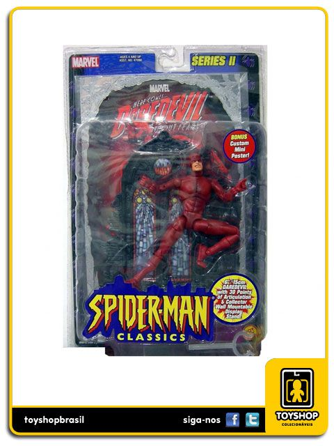 Marvel Spider man Classics Daredevil Toy Biz