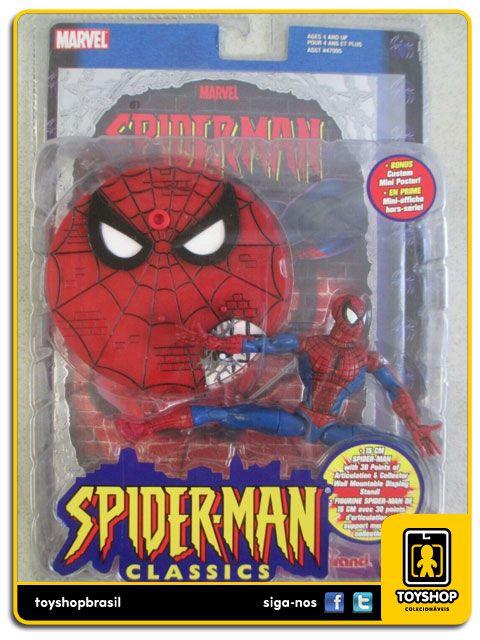 Marvel Spider man Classics Spider man Toy Biz