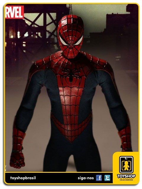 Marvel Spider-Man One 12 Mezco