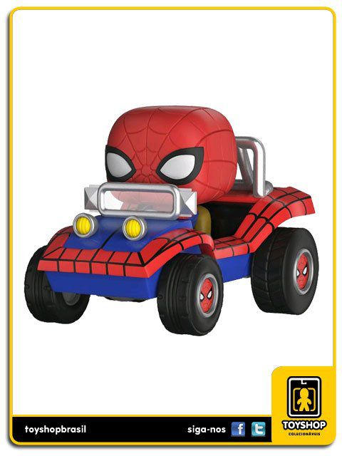 Marvel Spider Man With Spider Mobile Exclusivo 51 Pop Funko