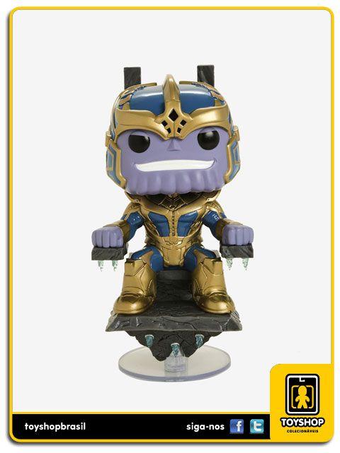 Marvel Studios 10th Thanos & Trono Hot Topic 331 Pop Funko