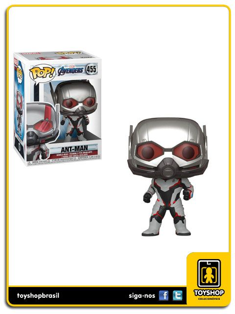 Marvel Vingadores Ultimato Ant Man 455 Pop Funko