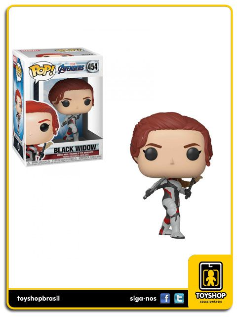 Marvel Vingadores Ultimato Black Widow 454 Pop Funko