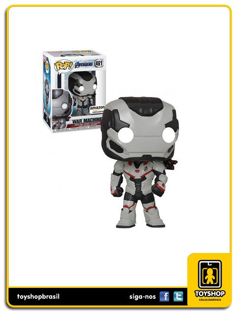 Marvel Vingadores Ultimato War Machine Exclusivo 461 Pop Funko
