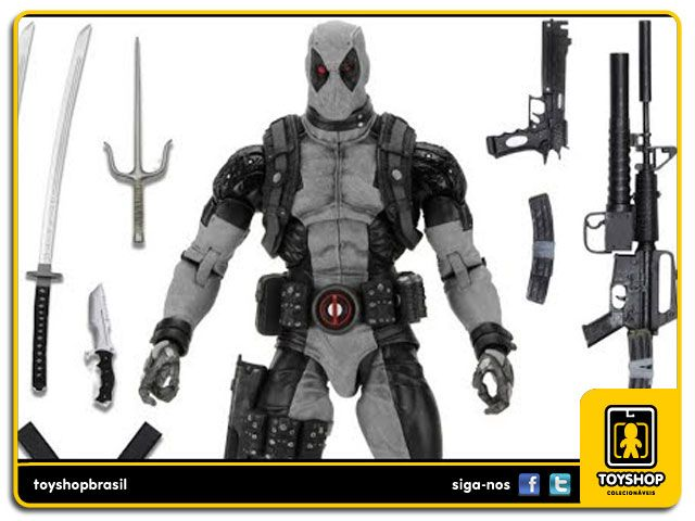 Marvel X-Force Deadpool 1/4  Neca