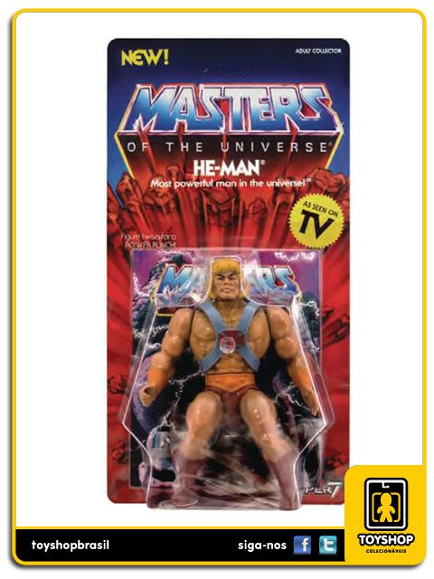 Masters of the Universe: He Man - Super7