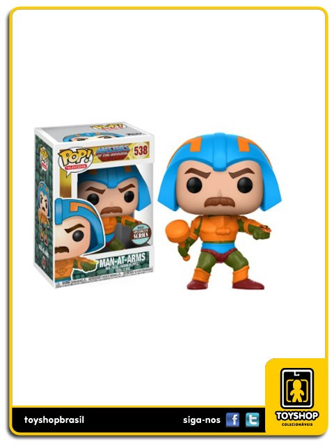 Masters of the Universe Man At Arms Exclusivo 538 Pop  Funko