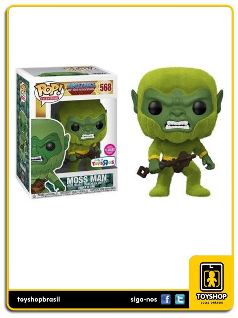 Masters of the Universe Moss Man Exclusivo 568 Pop  Funko