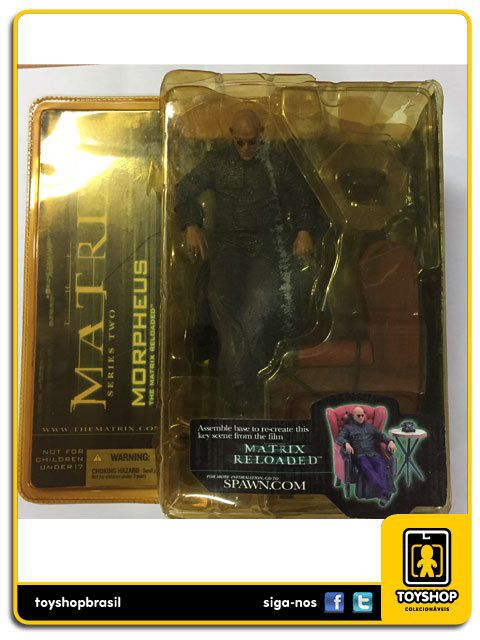 Matrix Reloaded Morpheus  Mcfarlane