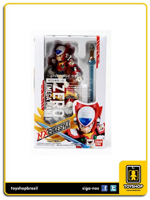 Mega Man X  Zero Nxedge Style Bandai