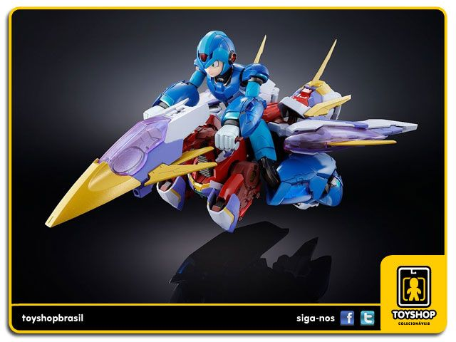 Megaman X Giga Armor Chogokin Bandai