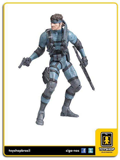 Metal Gear Solid 2 Sons Of Liberty Solid Snake Mcfarlane