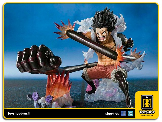 Monkey D. Luffy Gear 4 Figuarts Zero Snake Man King Cobra Bandai