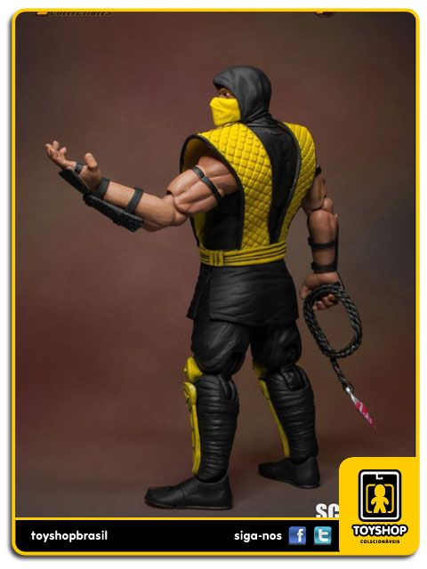 Mortal Kombat Scorpion 1/12 Storm Collectibles