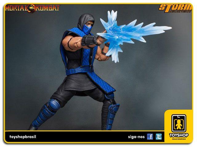 Mortal Kombat Sub Zero  1/12 Storm Collectibles