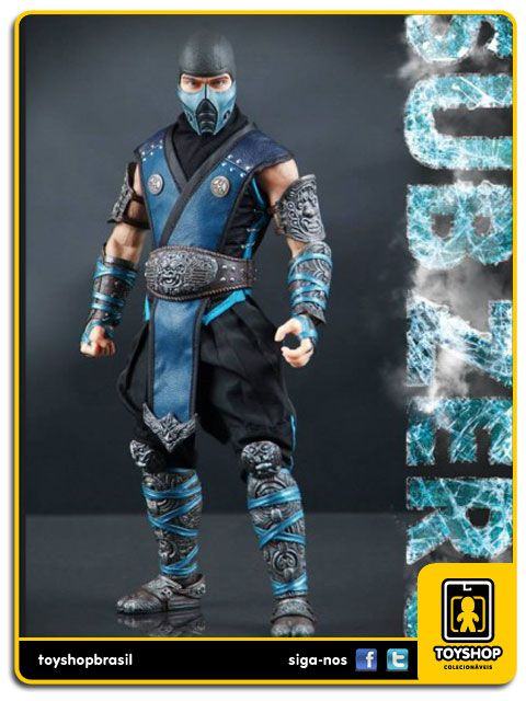 Mortal Kombat: Sub Zero 1/6 - WorldBox