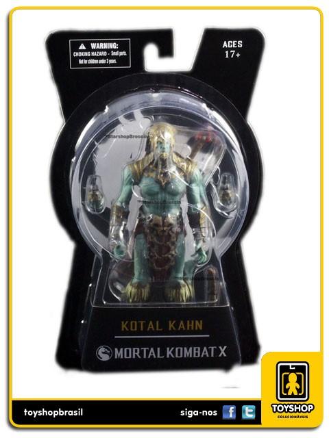 Mortal Kombat X Kotal Kahn Mezco