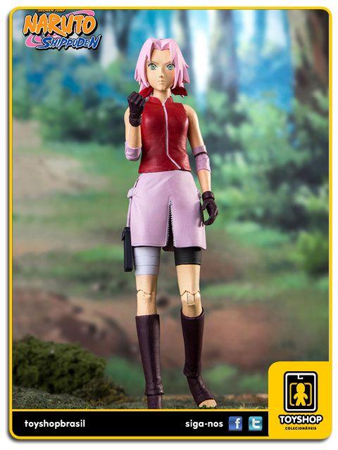 Naruto Shippuden Sakura Color Tops Mcfarlane Toys