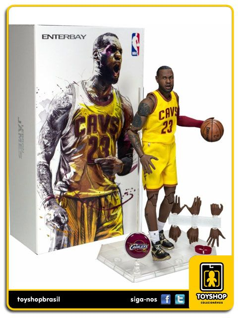 Nba Cleveland Cavaliers Lebron James 1/9 Enterbay