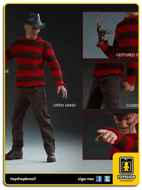 Nightmare on Elm Street Freddy Krueger 1/6  Sideshow Collectibles