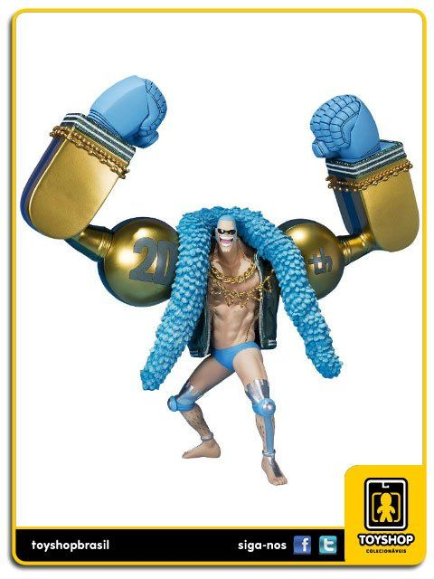 One Piece Figuarts Franky 20th Anniversary  Bandai