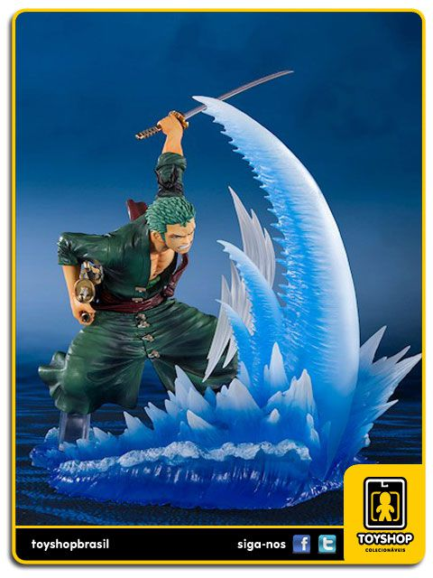 One Piece Figuarts Zero Roronoa Zoro Yakkodori Bandai
