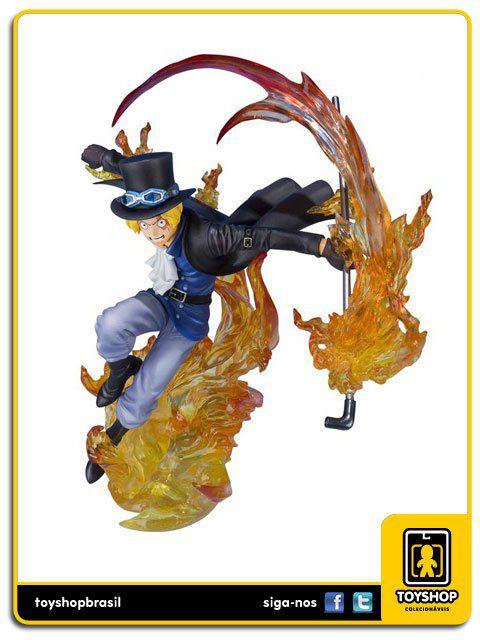 One Piece Figuarts Zero Sabo Fire  Bandai