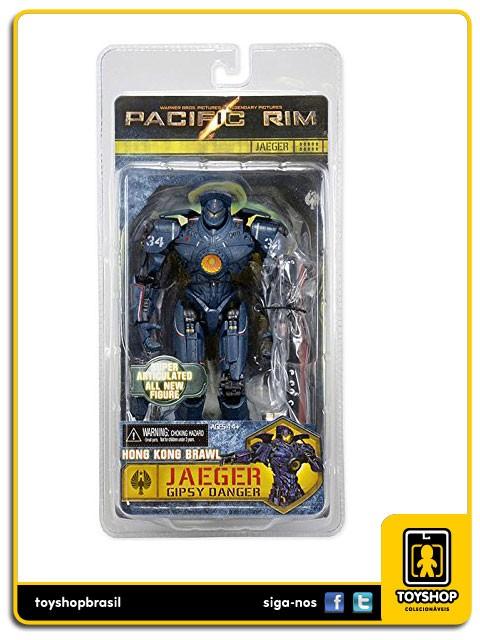 Pacific Rim Hon Kong Brawl Jaeger Gipsy Danger Neca