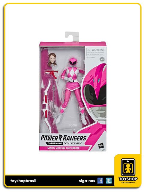 Power Rangers Mighty Morphin Pink Ranger Hasbro