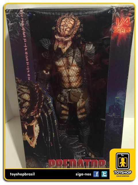 Predator 2 Unmasked City Hunter Predador 1/4 Neca