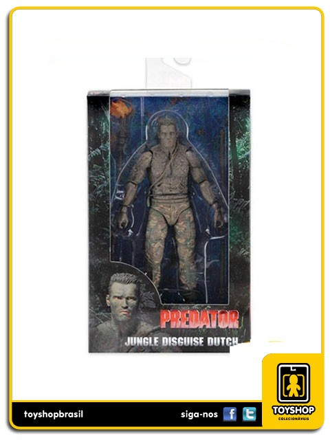 Predator 30th Anniversary Jungle Disguise Dutch Neca Toys