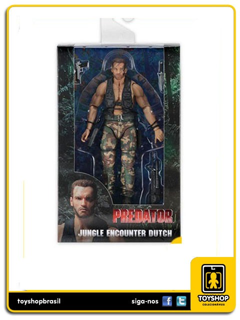Predator 30th Anniversary Jungle Encounter Dutch Neca Toys