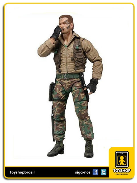 Predator 30th Anniversary Jungle Extraction Dutch Predador Neca Toys