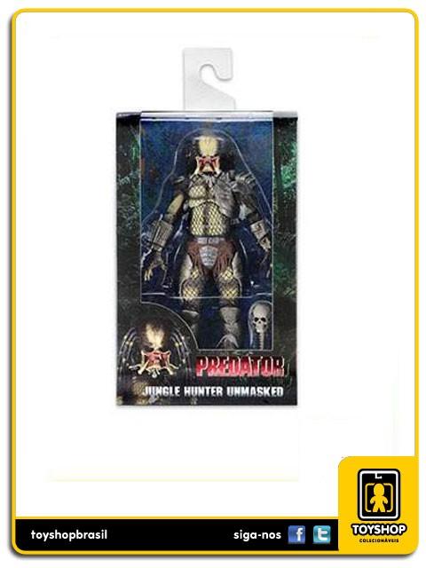 Predator 30th Anniversary Jungle Hunter Unmasked Neca Toys