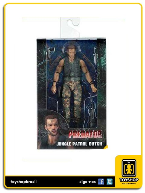 Predator 30th Anniversary Jungle Patrol Dutch Predador Neca Toys