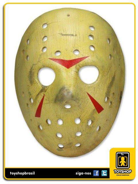 Sexta-feira 13 Parte 3 Jason Mask Replica 1:1 Neca Toys