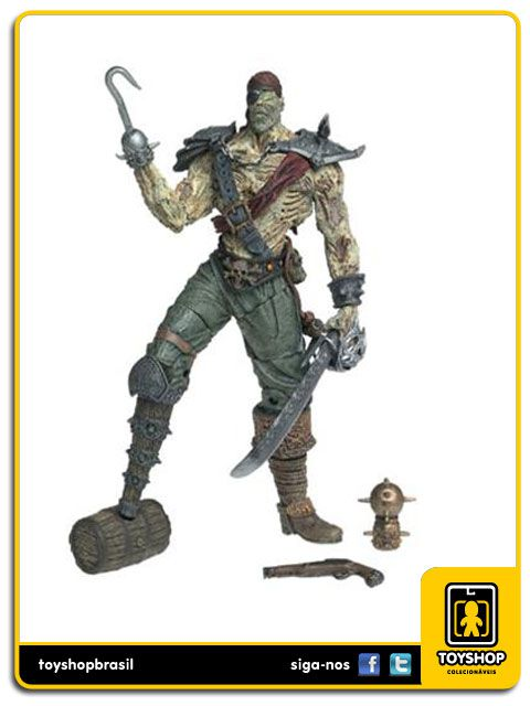 Spawn 21 Alternate Realities Pirate Spawn  Mcfarlane