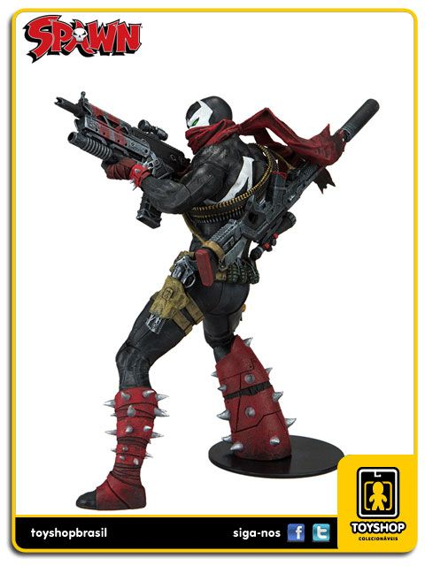 Spawn Commando Spawn Color Tops Mcfarlane Toys