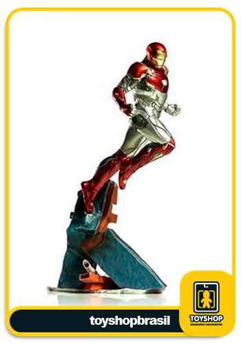 Spider-Man Homecoming Estátua Iron Man Mark XLVII Art Scale 1/10