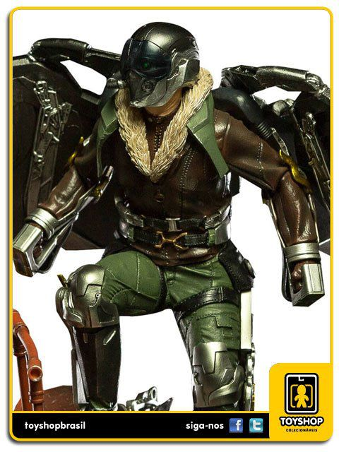Spider-Man Homecoming Estátua Vulture Art Scale 1/10 Iron Studios