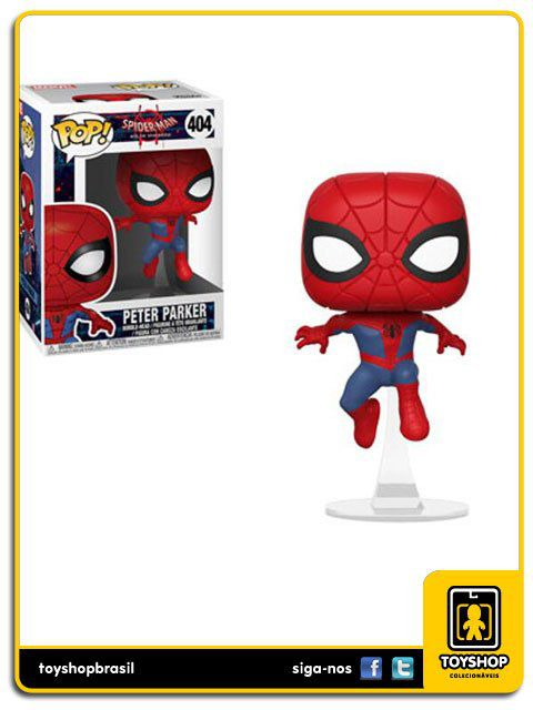 Spider Man Peter Parker 404 Pop Funko