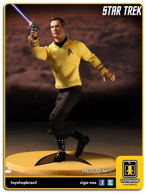 Star Trek Captain Kirk One 12  Mezco