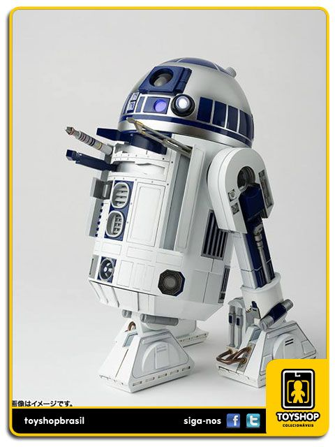 Star Wars A New Hope R2-D2 Perfect Model Chogokin Diecast Bandai