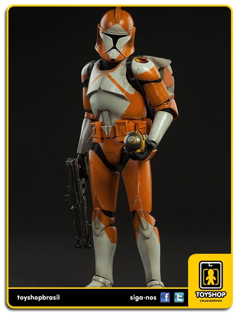 Star Wars Bomb Squad Clone Trooper Sixth Scale 1/6  Sideshow
