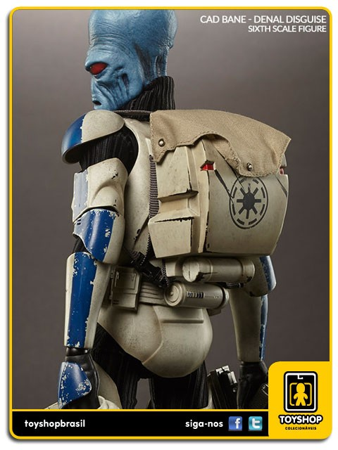 Star Wars Cad Bane in Denal Disquise Sixth Scale 1/6  Sideshow