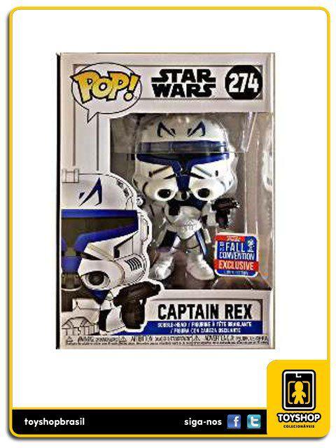 Star Wars Captain Rex Nycc Exclusivo 274 Pop Funko